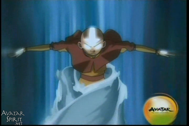 state before he learned to master it, from Avatar: The Last Airbender.