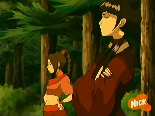 avatar the last airbender cartoon screencap book 2 earth chapter 8 the chase mai and ty lee 4 Avatar Cartoon Book 4