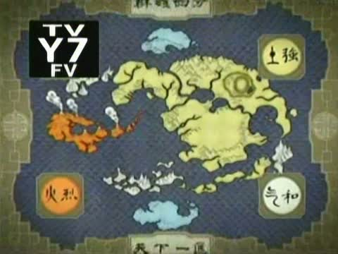 Avatar Last Airbender Map Of