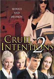 cruel intentions film analysis 1913 words It is different in which the writer of the novel is using words while the film maker is using pictures to describe what's happening  the movie cruel intentions is .