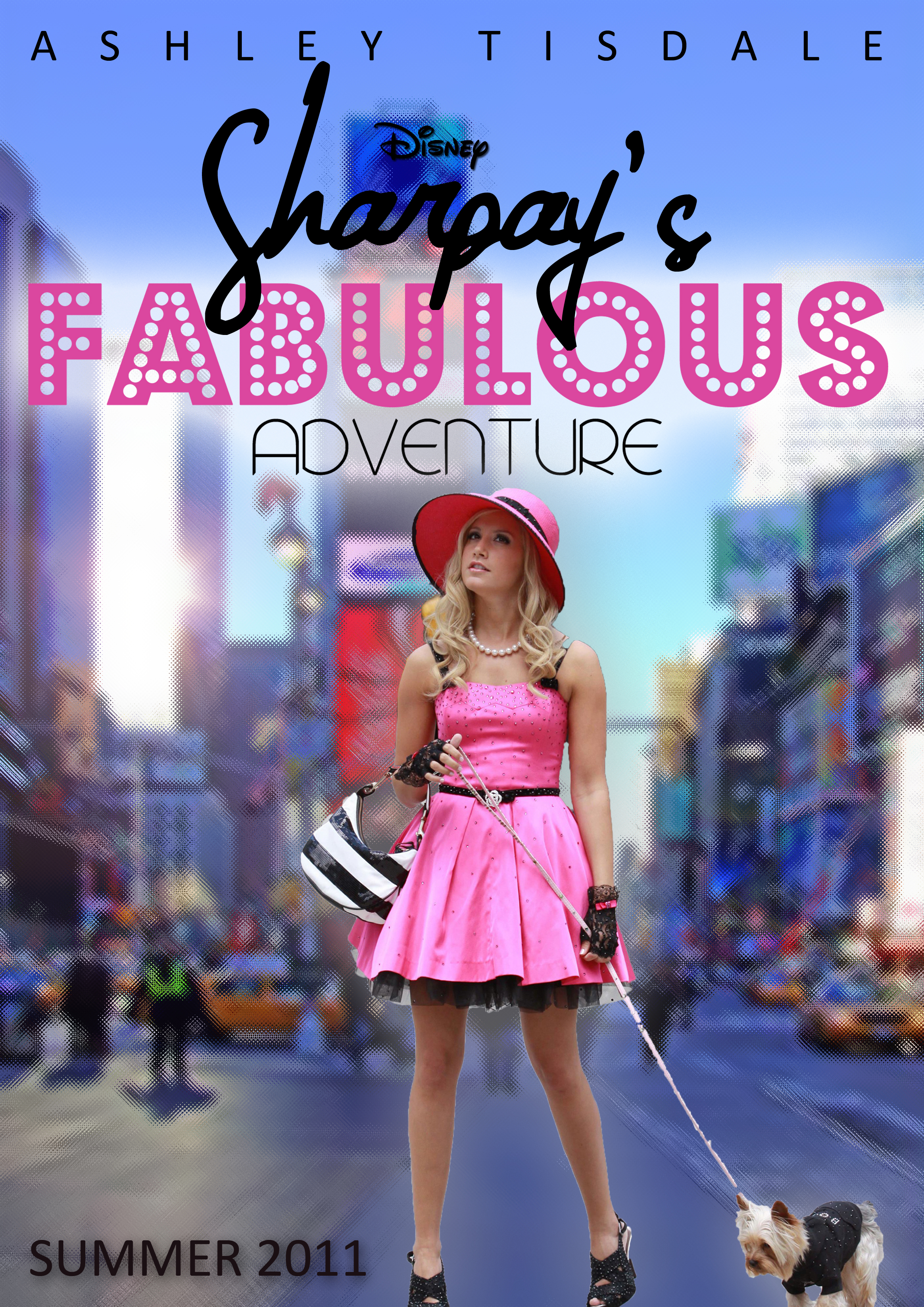 Sharpay's Fabulous Adventure Movie Poster Lucasgrabeel