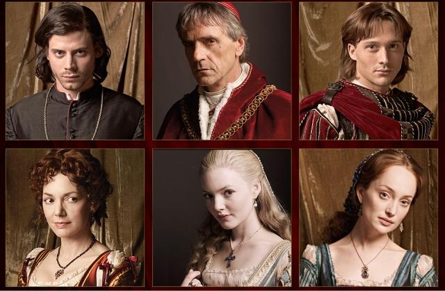 Актеры сериала борджиа фото