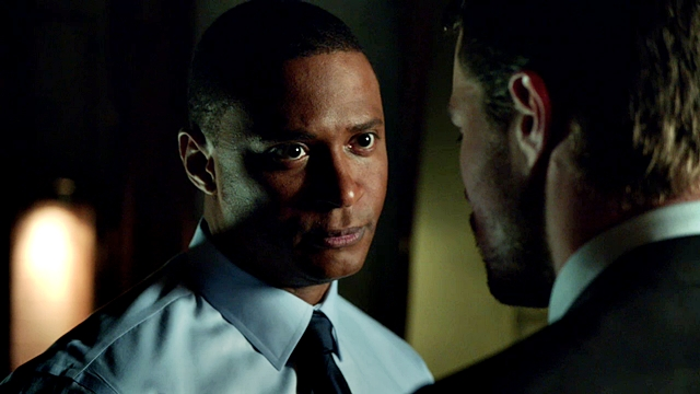 Arrow - Muse of Fire - M - Oliver Queen (7) - John Diggle