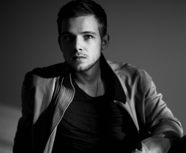 Max Thieriot - Black and White Photoshoot (1)