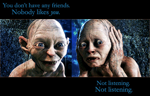 My Soul To Take - Bug and Leah (8) Gollum talking to himself