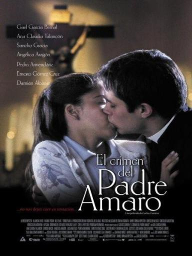 04 - el crimen del padre amaro - movie poster - the crime of father amaro