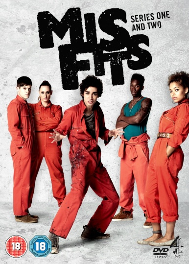 23 - Misfits dvd cover series 1 and series 2
