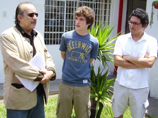 521 - Dioses - Gods - Peru - 2008 - Josue Mendez - Behind the Scenes - Sergio Gjurinovik, Edgar Saba
