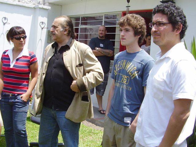 525 - e - Dioses - Gods - Peru - 2008 - Josue Mendez - Behind the Scenes - Sergio Gjurinovik, Anahi de Cardenas, Maricielo Effio (0)