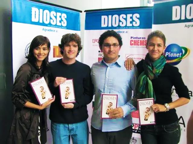 541 - Dioses - Gods - Peru - 2008 - Josue Mendez - Behind the Scenes - Sergio Gjurinovik, Anahi de Cardenas, Maricielo Effio (3) - edit