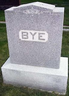 563 - dead gravestone bye reaction