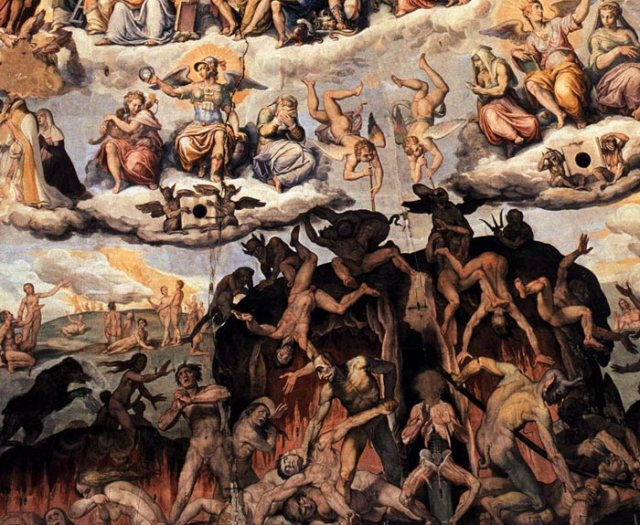 76 - vasari - the last judgment