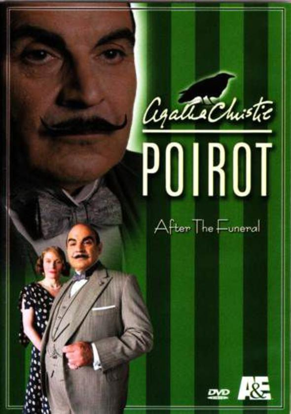 Agatha christie's poirot after the funeral dvd cover