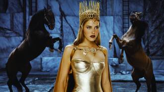 Athena in Immortals